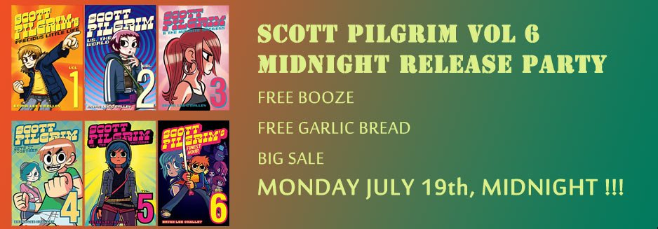 Scott Pilgrim Release Party